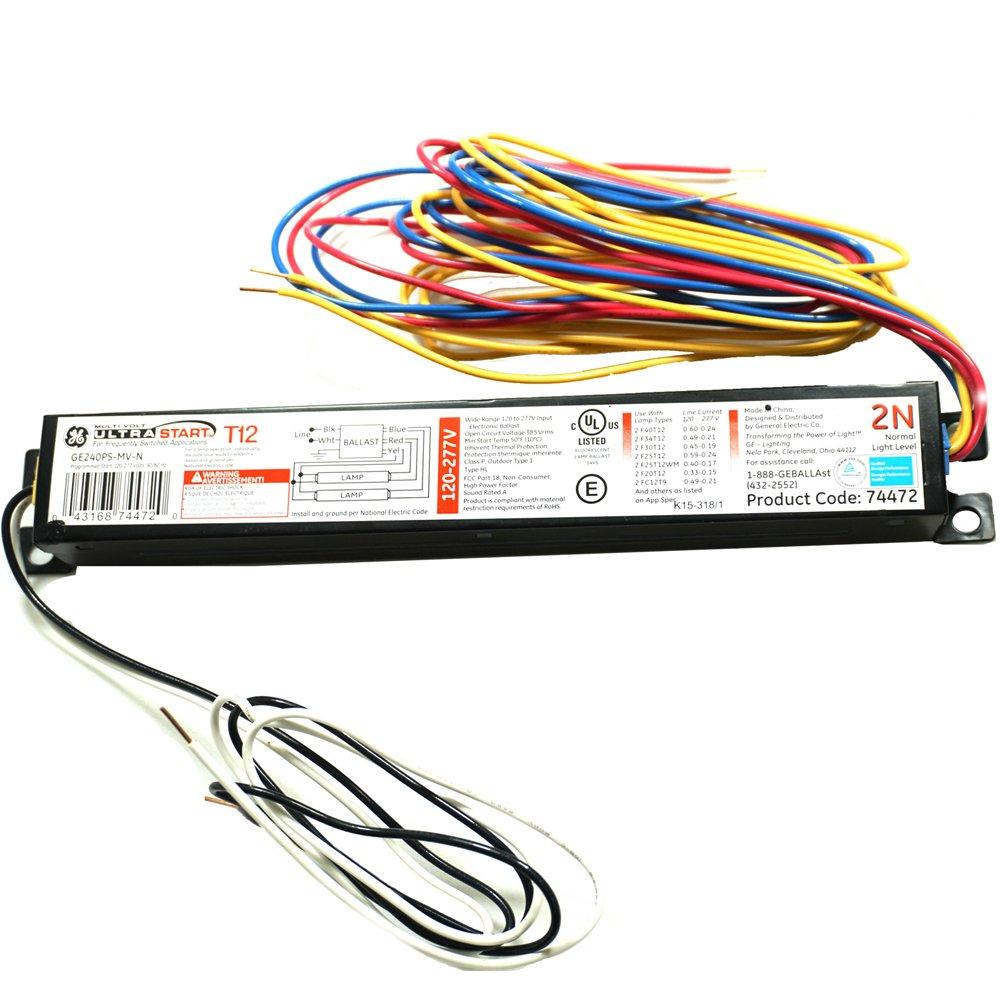 T12 Electronic Ballast Wiring Diagram