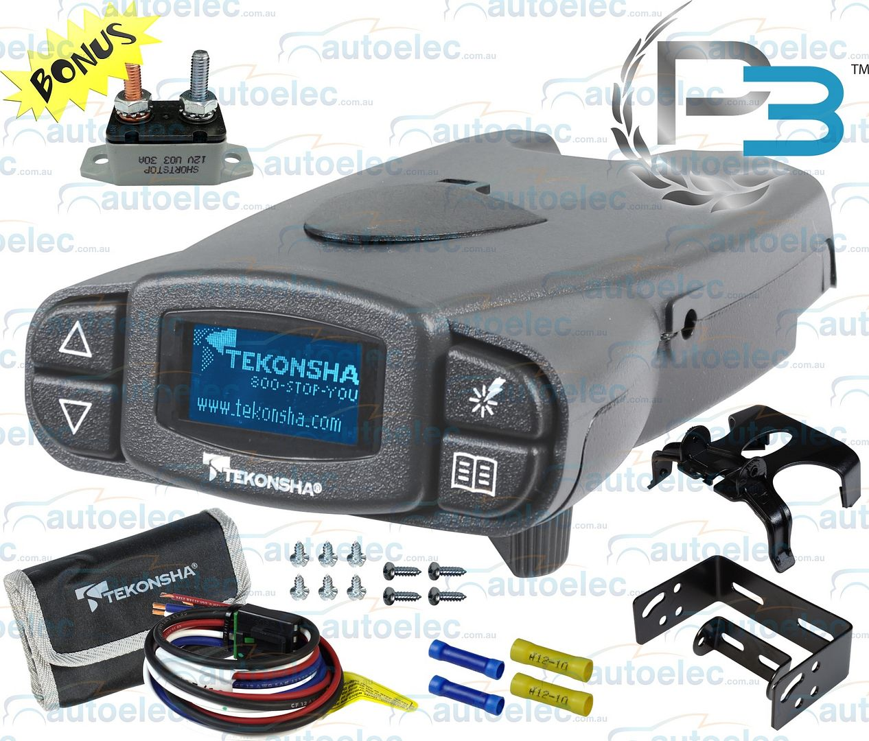 Tekonsha Voyager Electric Brake Controller Wiring Diagram
