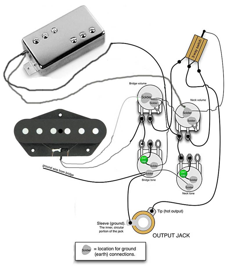 Telecaster Deluxe Wiring Diagram