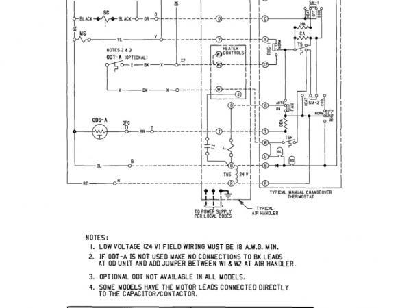 Trane Baystat 239 Wiring Diagram on