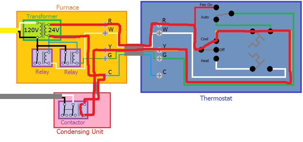 Trane Heat Pump 24v Wiring Diagram