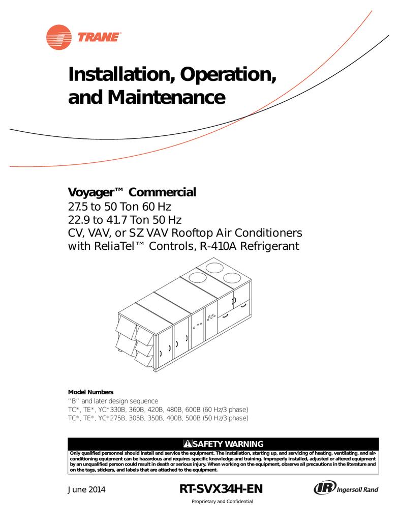 trane intellipak wiring diagrams Air-Handler Motor Wiring Diagram Air-Handler Motor Wiring Diagram