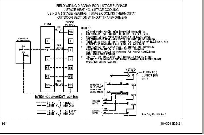 Trane Xe 80 Wiring Diagram
