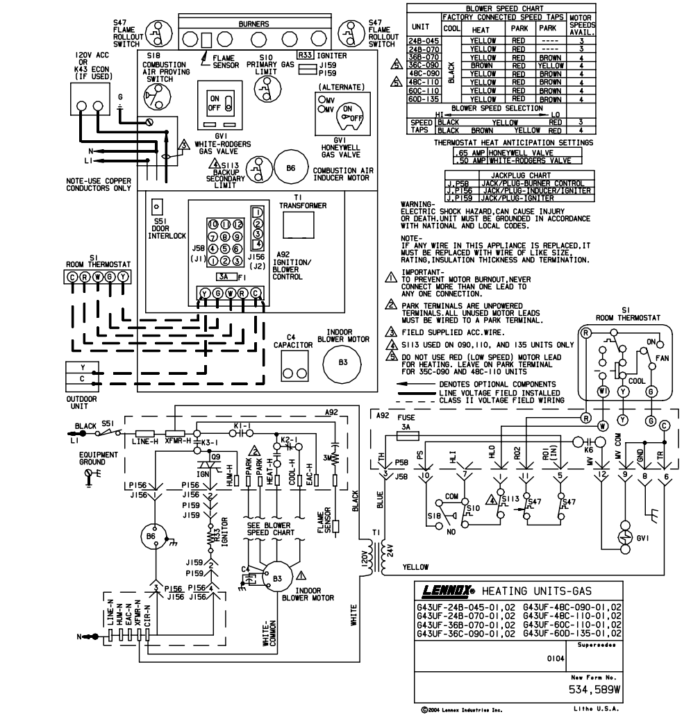 Trane Xl90 Wiring Diagram