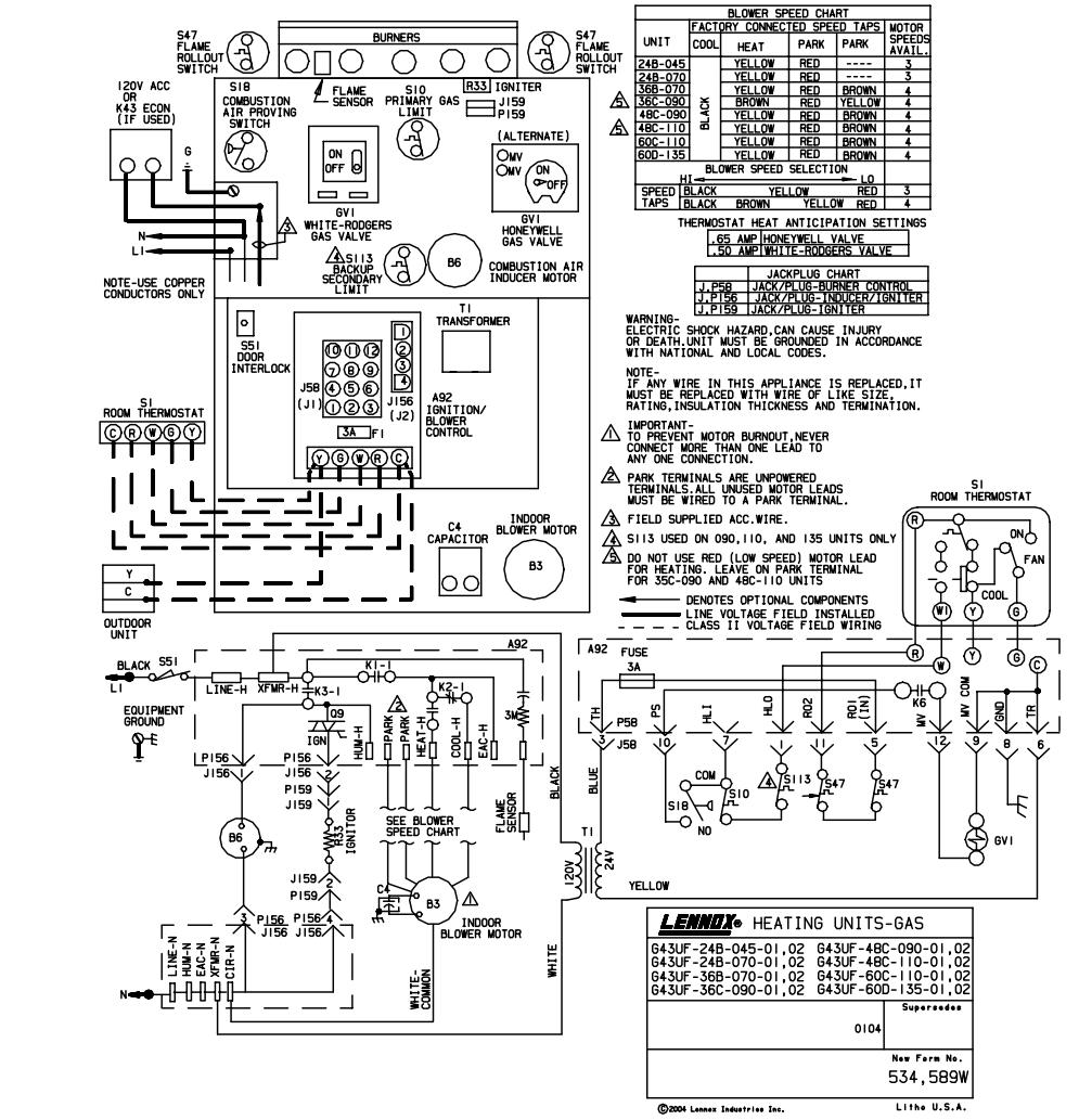 Trane Ycd090 Wiring Diagram