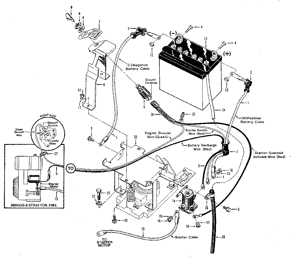 Troy Built Pony Wiring Diagram