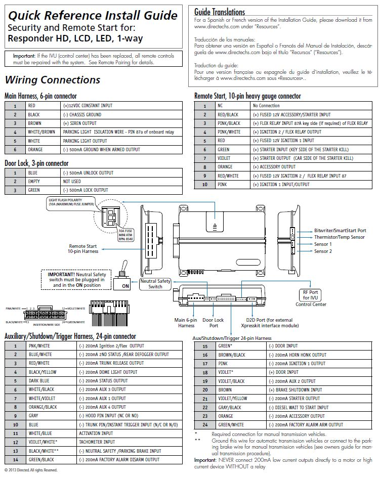 Viper 5901 Wiring Diagram