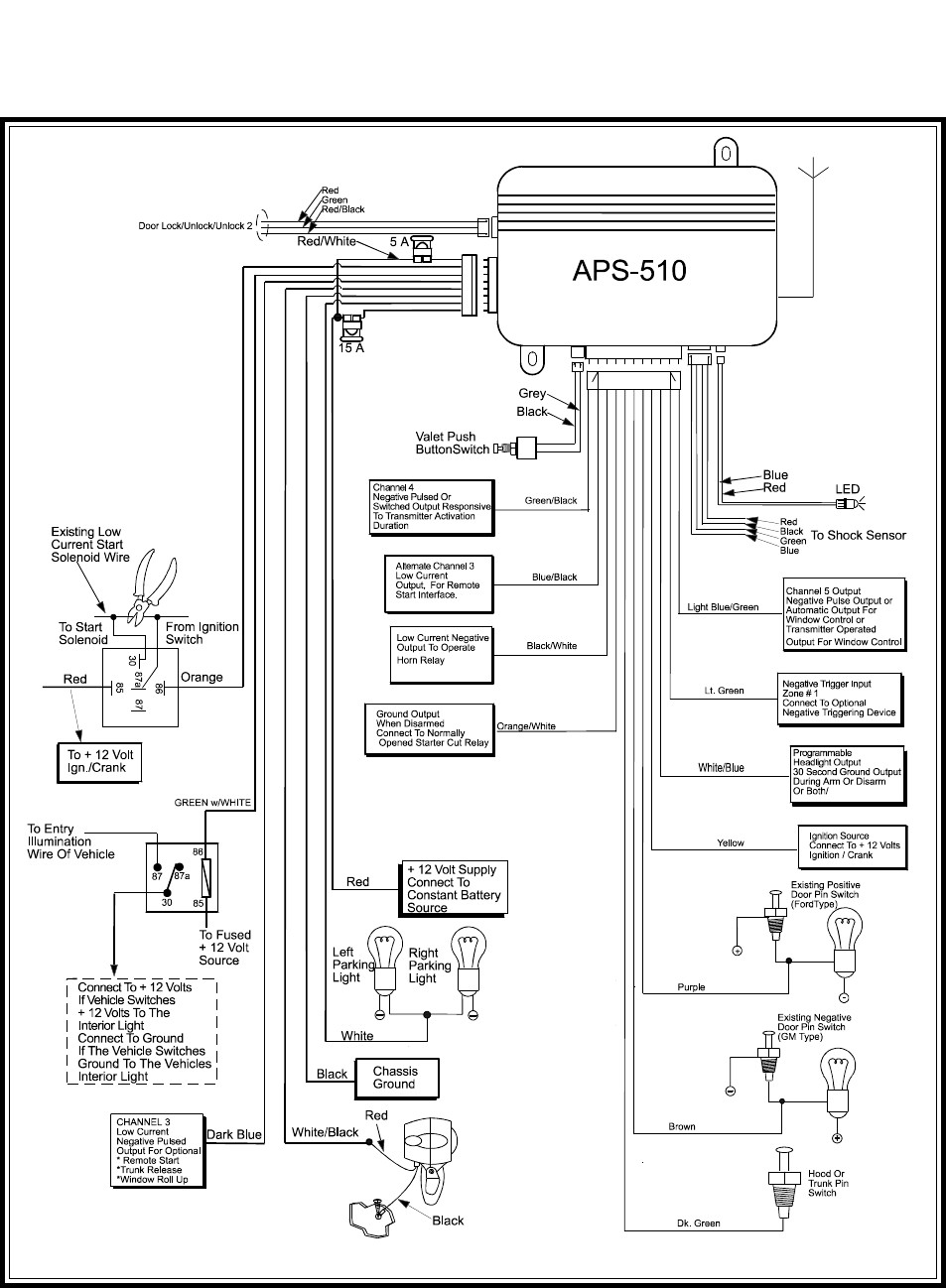 Viper 5901 Wiring Diagram | Wiring Diagram on