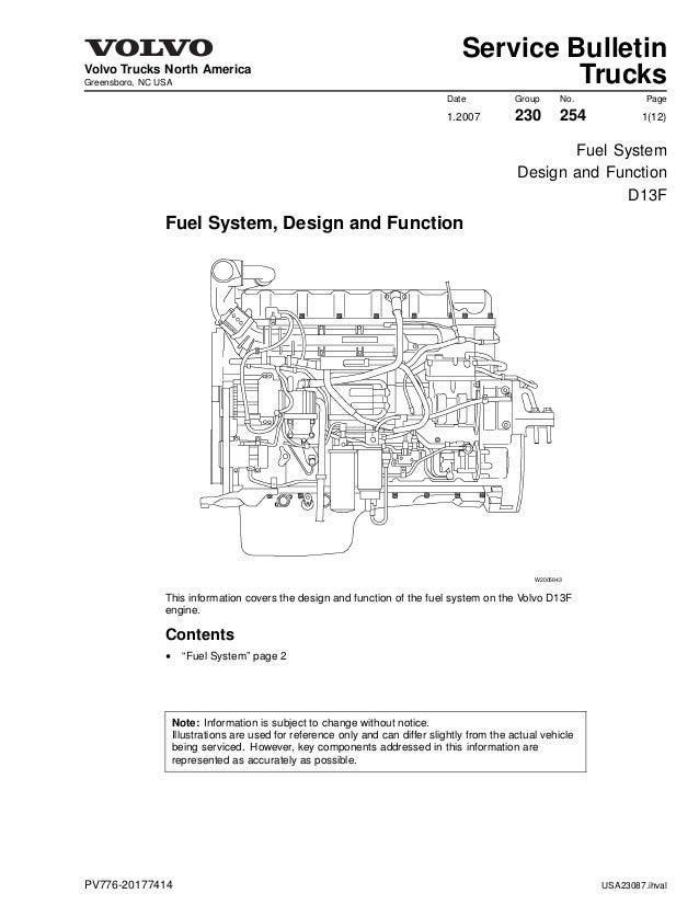 Volvo D13 Engine Diagram