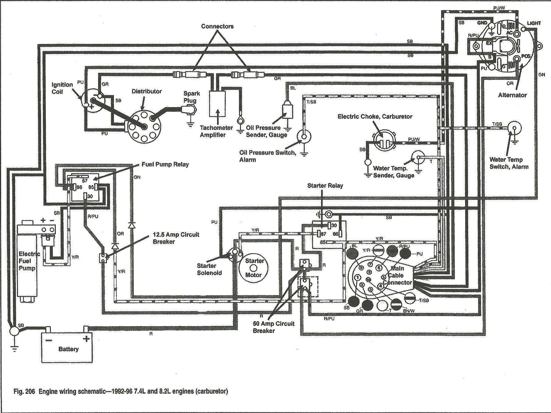 Volvo Penta Fuel Pump Wiring Diagram 4 3 Relays Part No