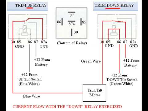 Pin Relay Wiring Trim on diagram for driving lights dyna, circuit board, diagram for 40 amp, schematic delay, diagram headlight,