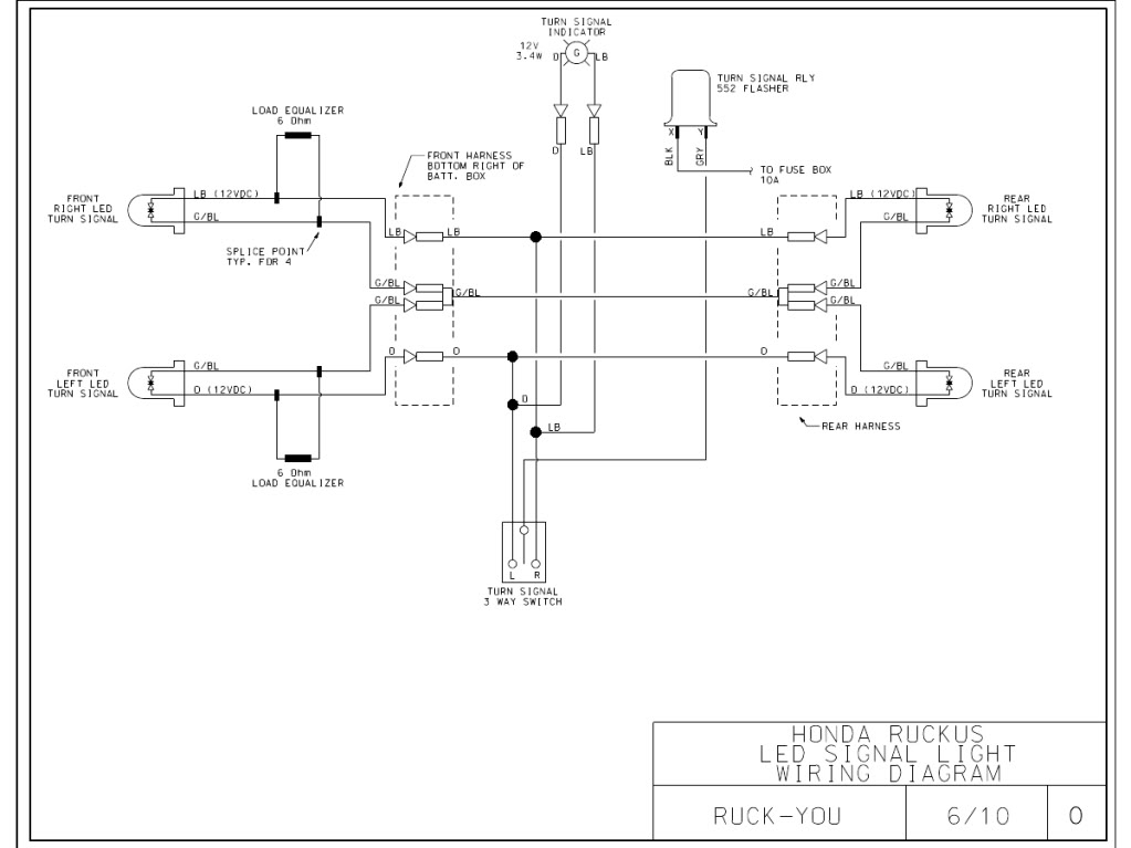 Signal Stat 900 6 Wire Wiring Diagram from wiringall.com