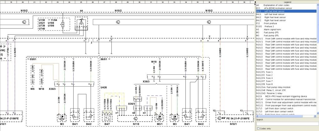 W164 Wiring Diagram