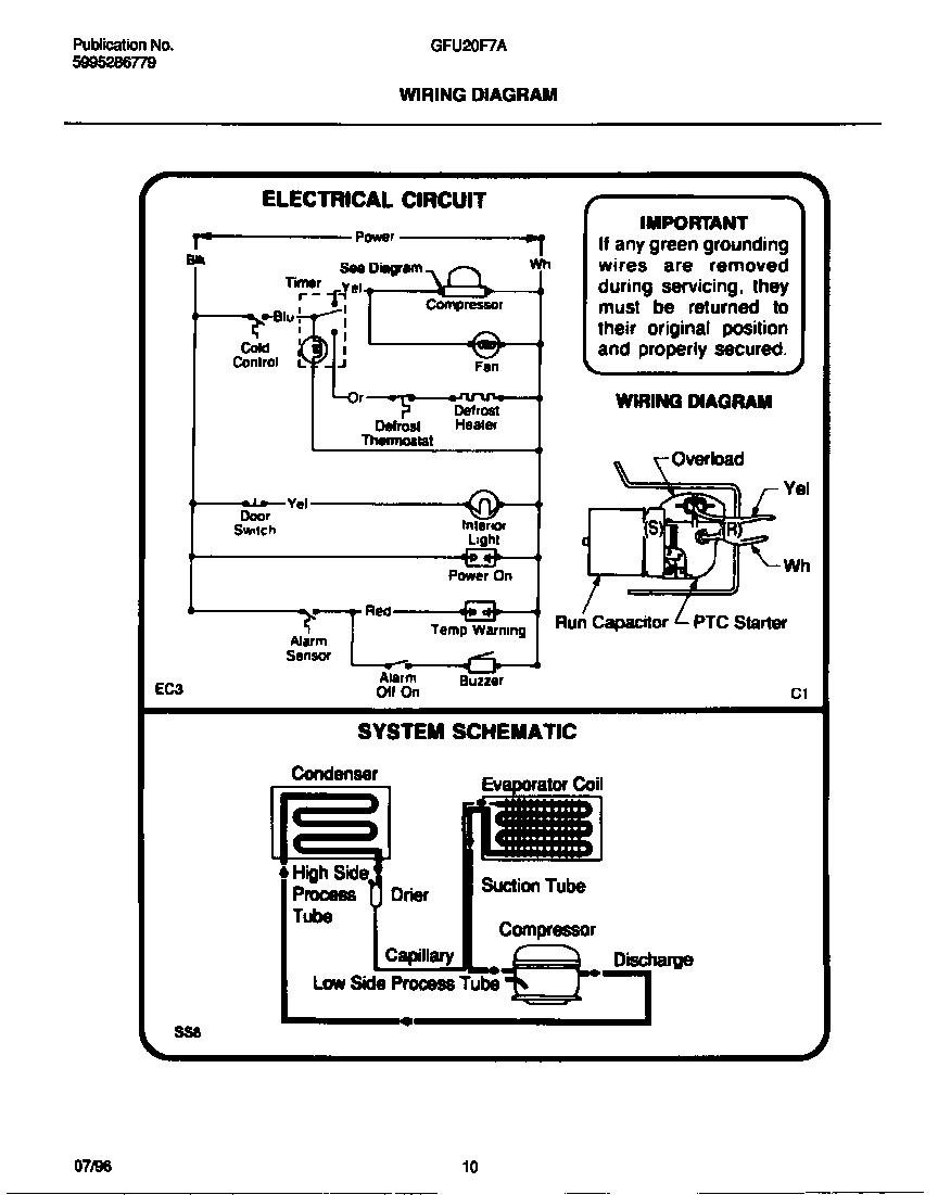 Walk In Cooler Wiring Schematic