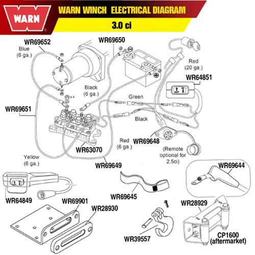 Warn 9 5 Ti Wiring Diagram