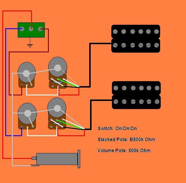 Washburn X Series Wiring Diagram