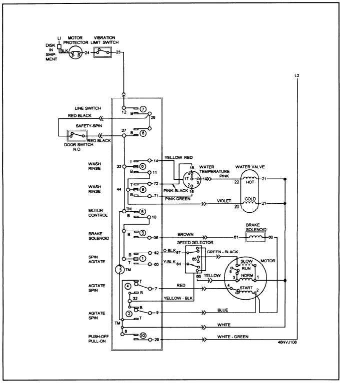 Washing Machine Wwa8858mala Wiring Diagram