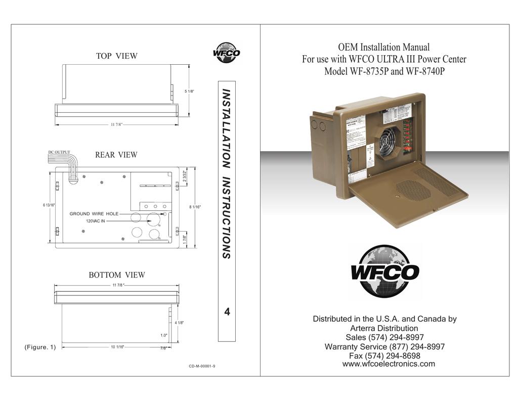 wf 8735 wiring diagram