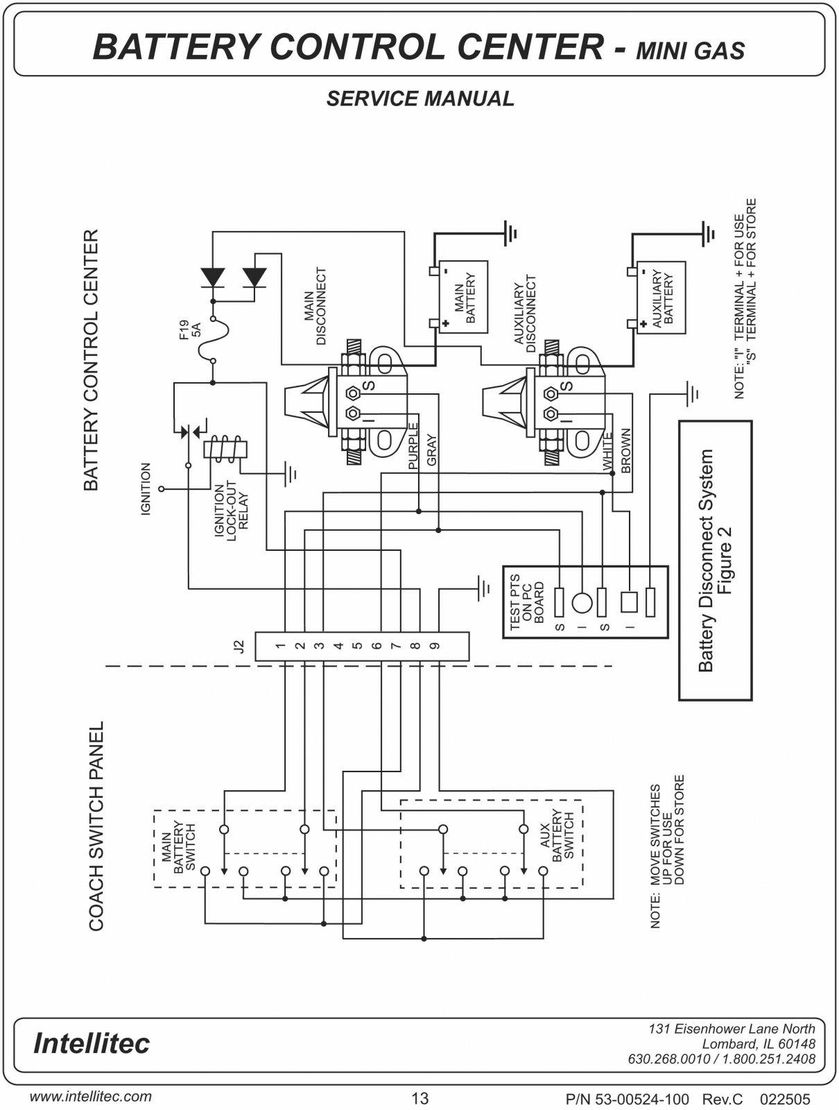 winnebago sightseer 12 volt wiring diagram