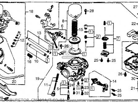 Wiring Diagram For 1981 Honda Cm400