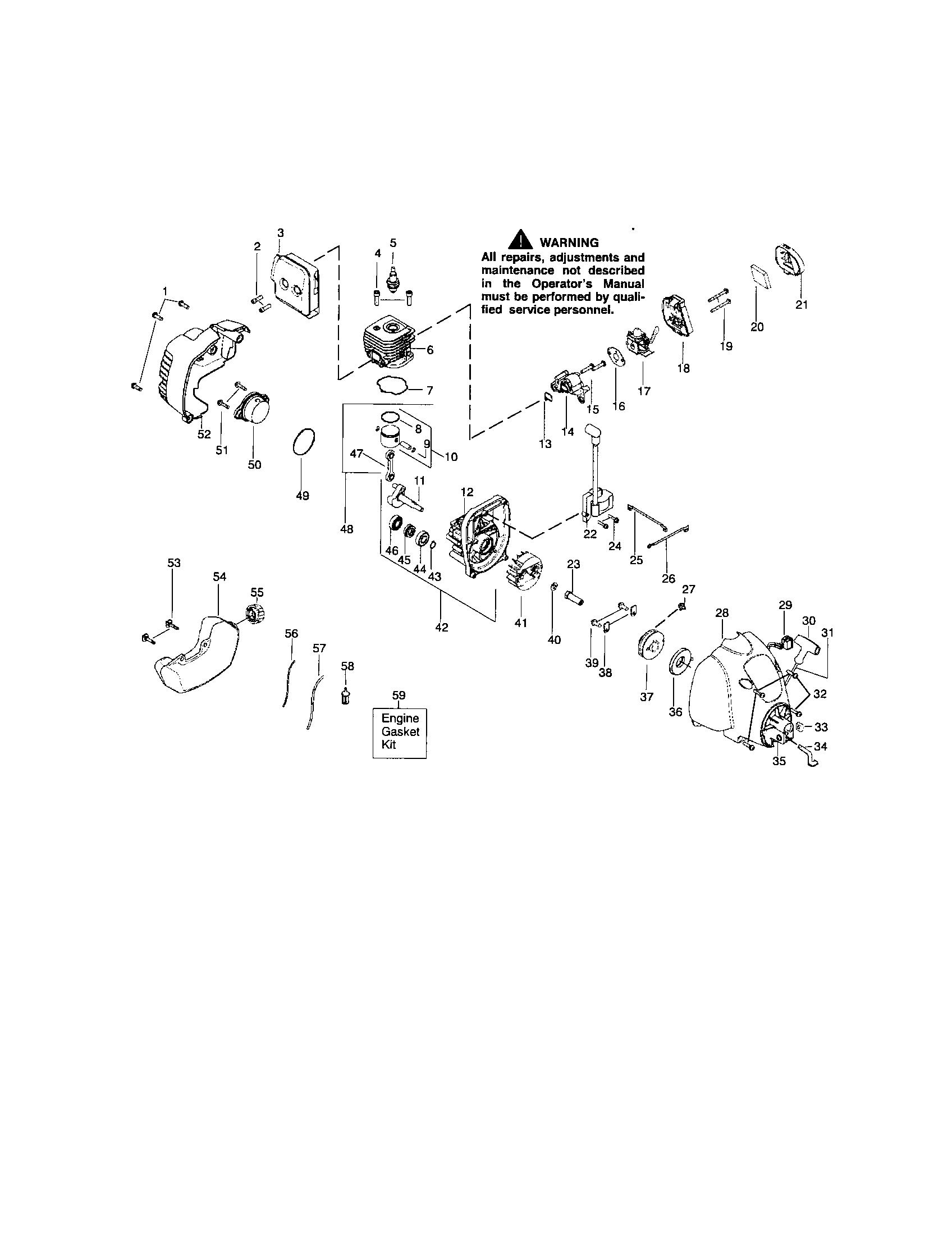 wiring diagram for a craftsman 32cc weedwacker