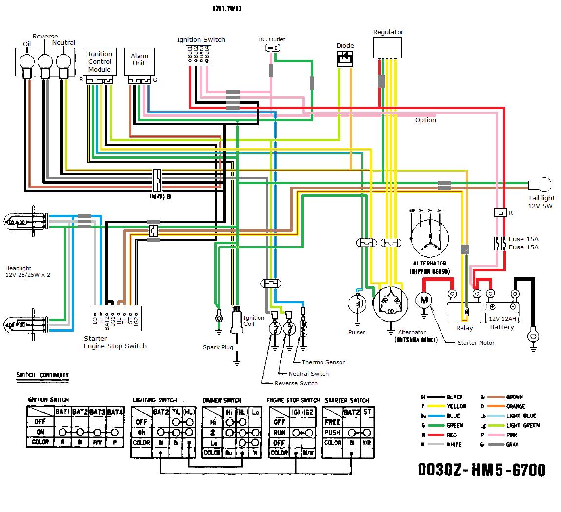 Wiring Diagram For A Giye 4 Wheeler