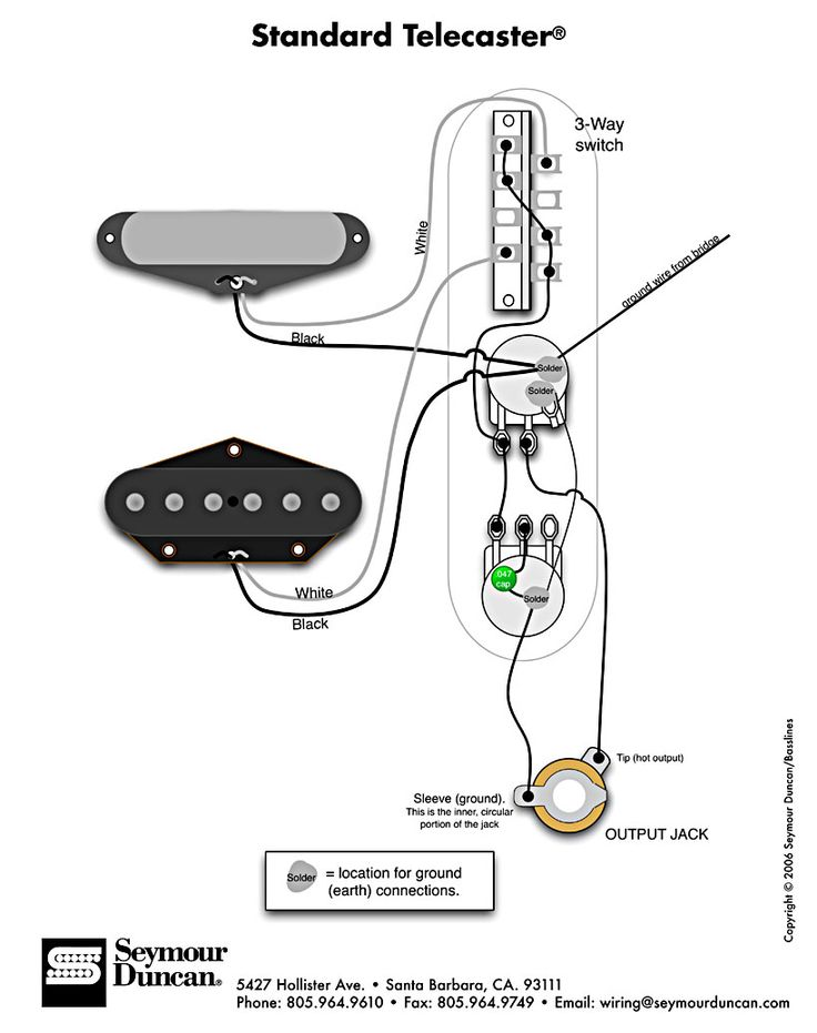 Wiring Diagram For Aerodyne Tele