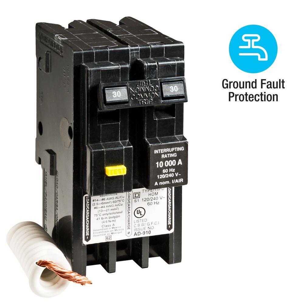 Wiring Diagram For Eaton Ch 60 Amp Gfci Breaker