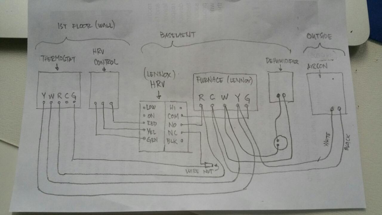 Wiring Diagram For Ecobee Pek