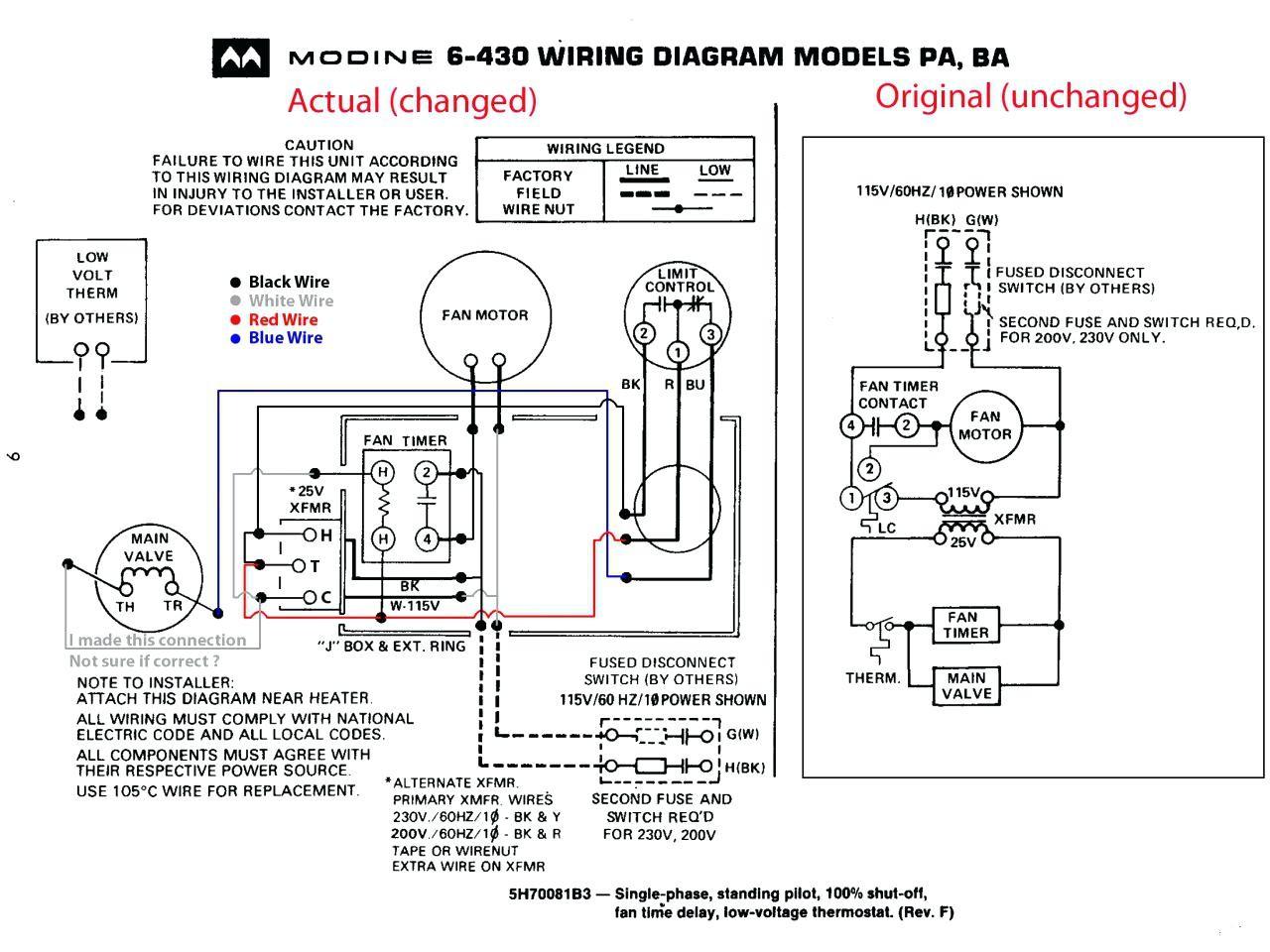 Wiring Diagram For Fedders A  C Condenser Fan Motor