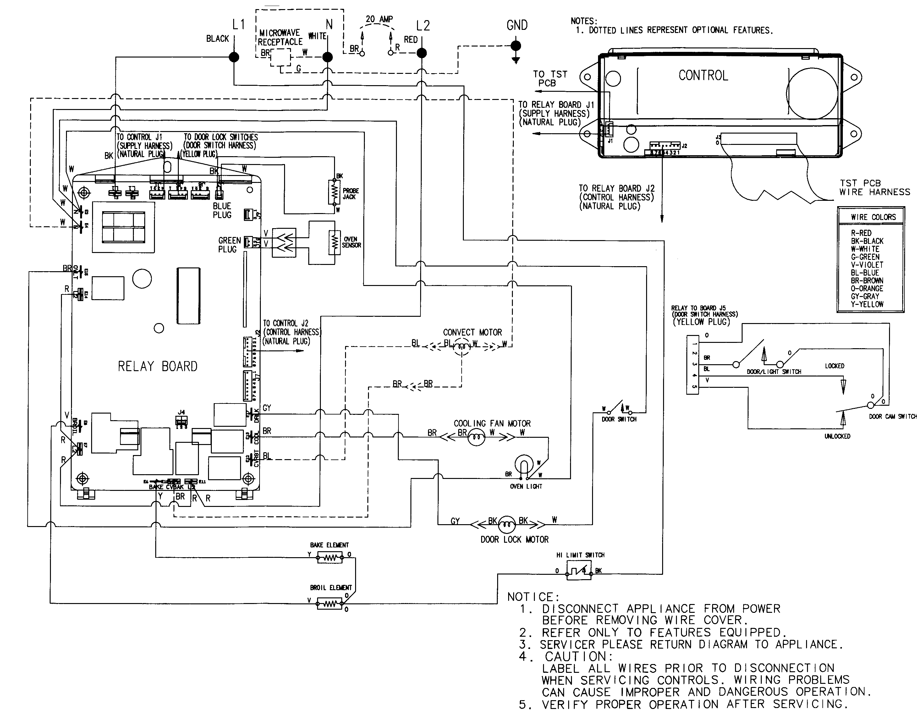 Diagram Ge Oven Schematic And Wiring Diagram