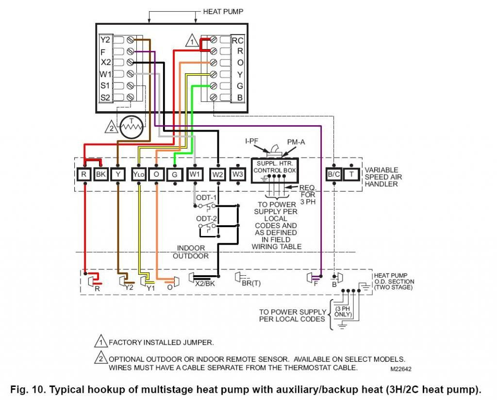 Wiring Diagram For Honeywell Rth7560