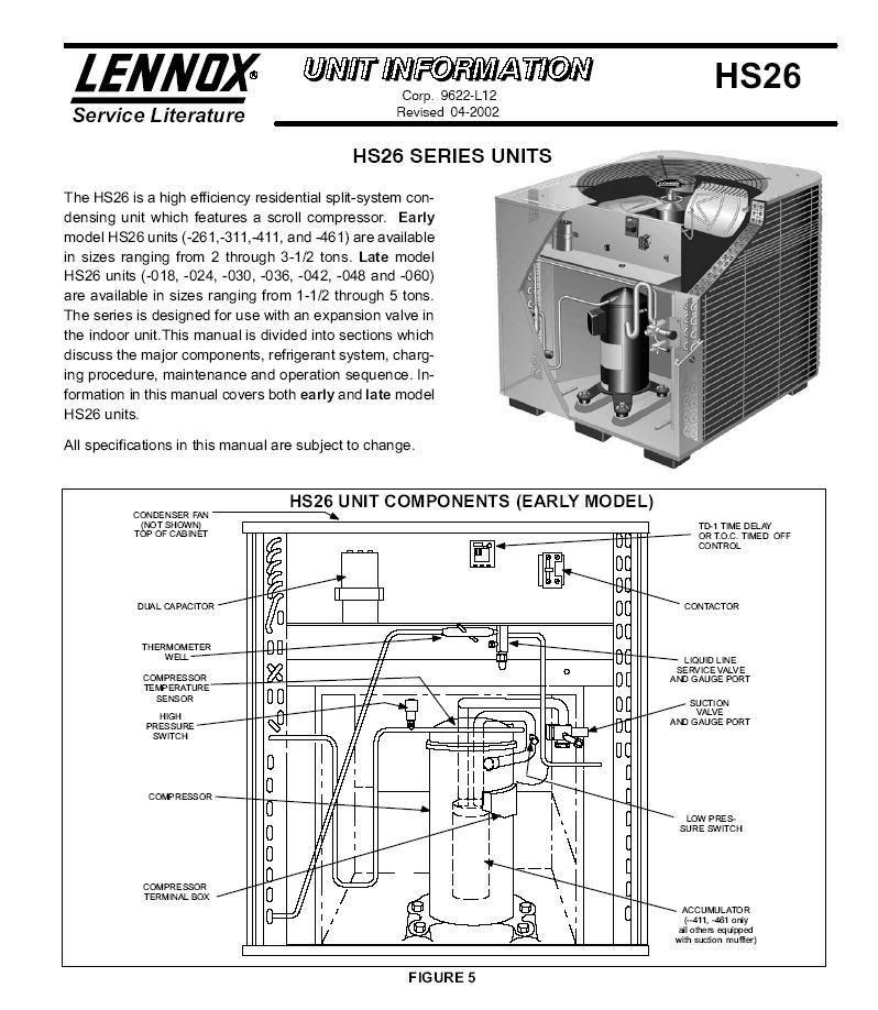 Wiring Diagram For Lennox 14hpx