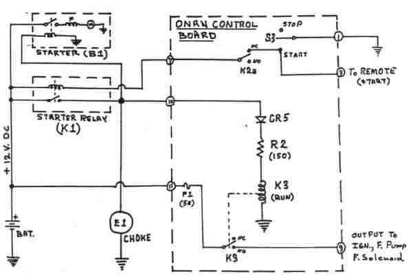 Wiring Diagram For Onan 5500 Generator
