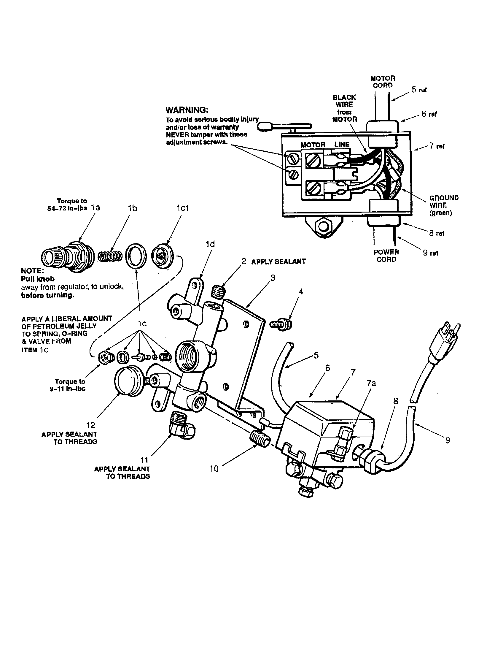 Wiring Diagram For Sanborn Air Compressor