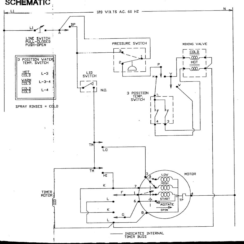 Wire Diagram For Dryer