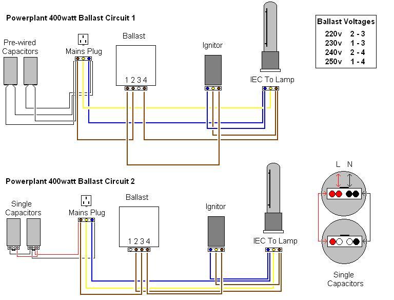 Wiring Diagram Hps Ballast
