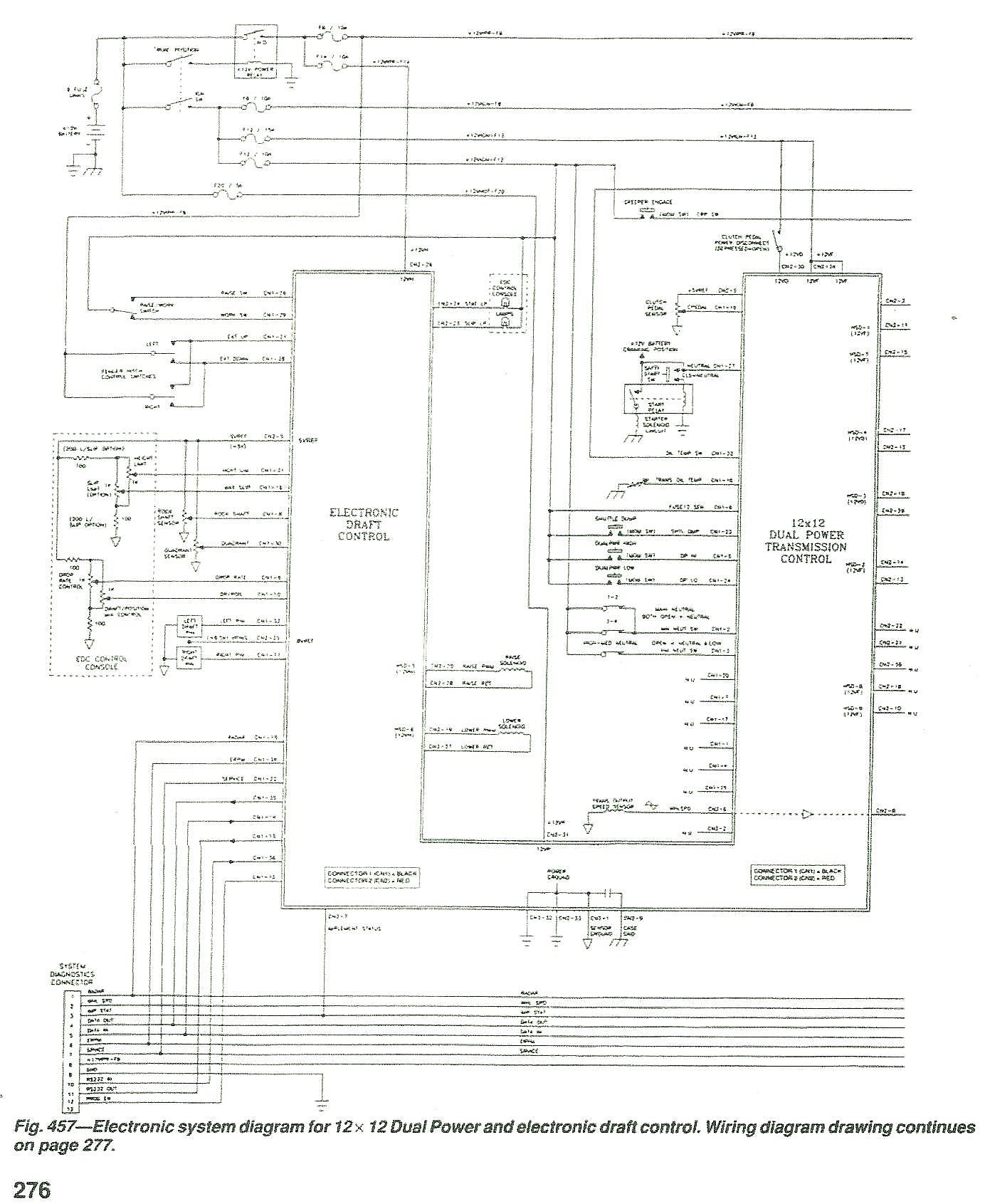 Wiring Diagram New Holland 86400220