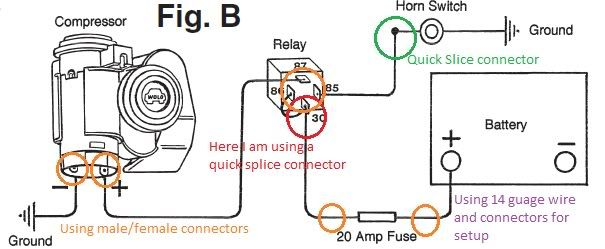 Wolo Bad Boy Single Wiring Diagram