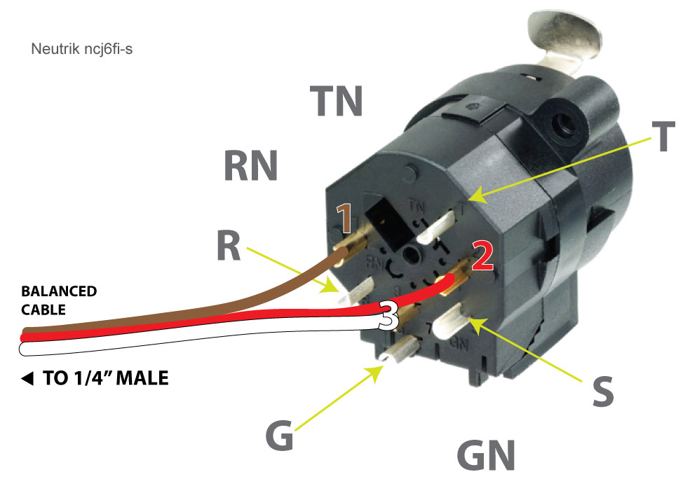 Xlr To 1  4 Inch Mono Wiring Diagram