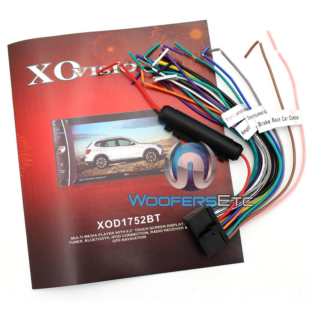 xo-vision-xd103-wiring-harness-2 Double Din Wiring Harness Vision Xd on