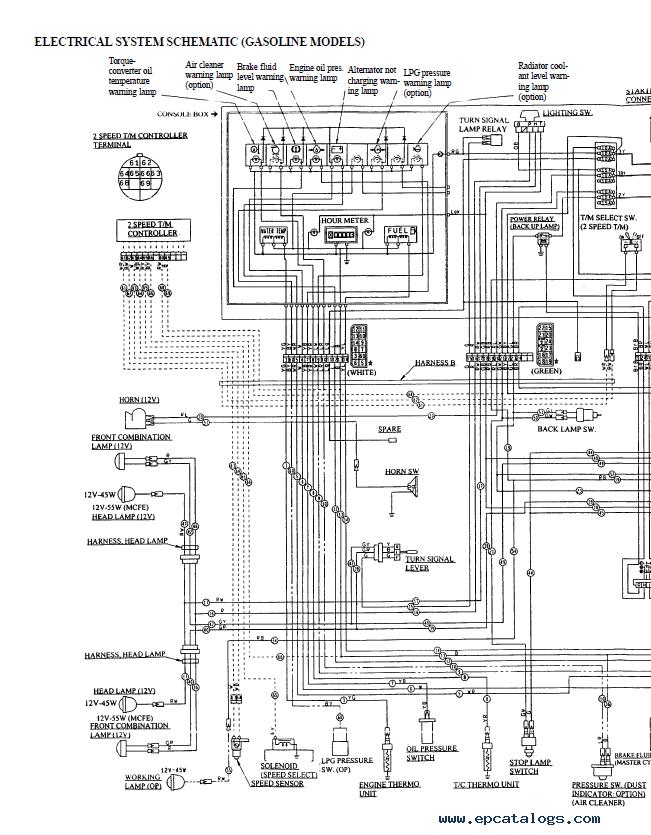 Yale Os030 Wiring Diagram
