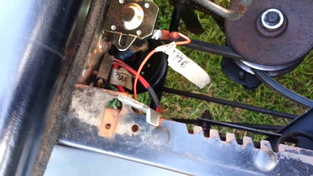 Wiring Diagrahm For Huskee Riding Lawn Mower Lawnsitecom Lawn