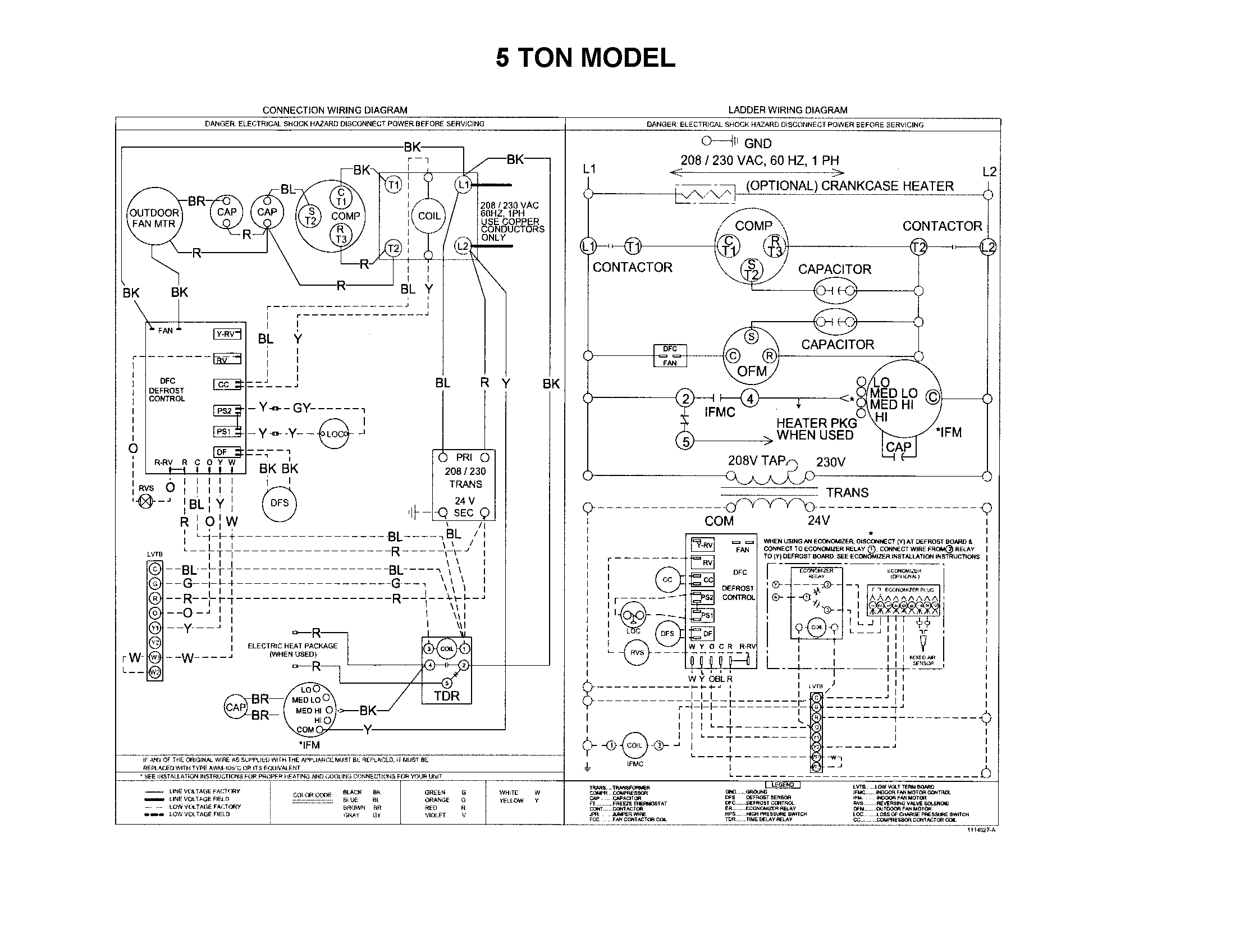 Carrier Heat Pump Wiring Diagram from wiringall.com