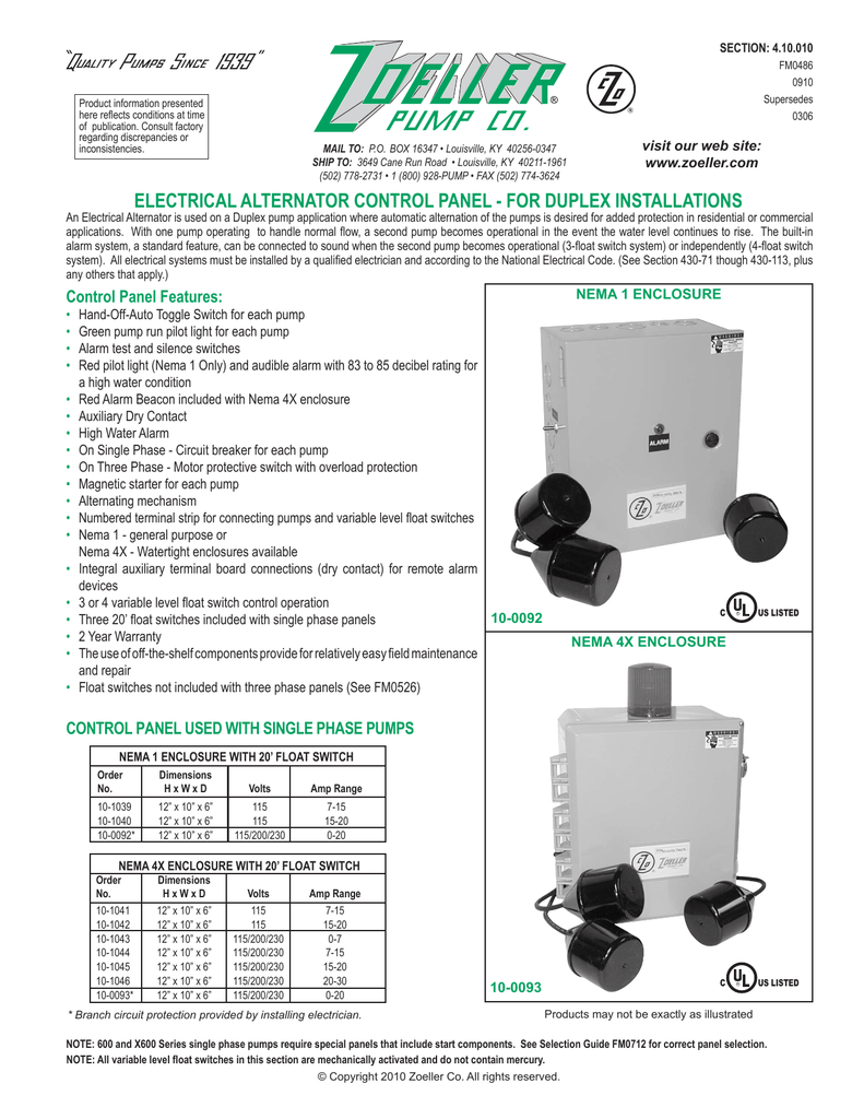 zoeller pumps wiring diagram with thermal overload single phase on johnson  pump switch wiring diagram,